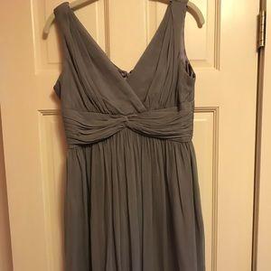 Donna Morgan size 6 grey dress